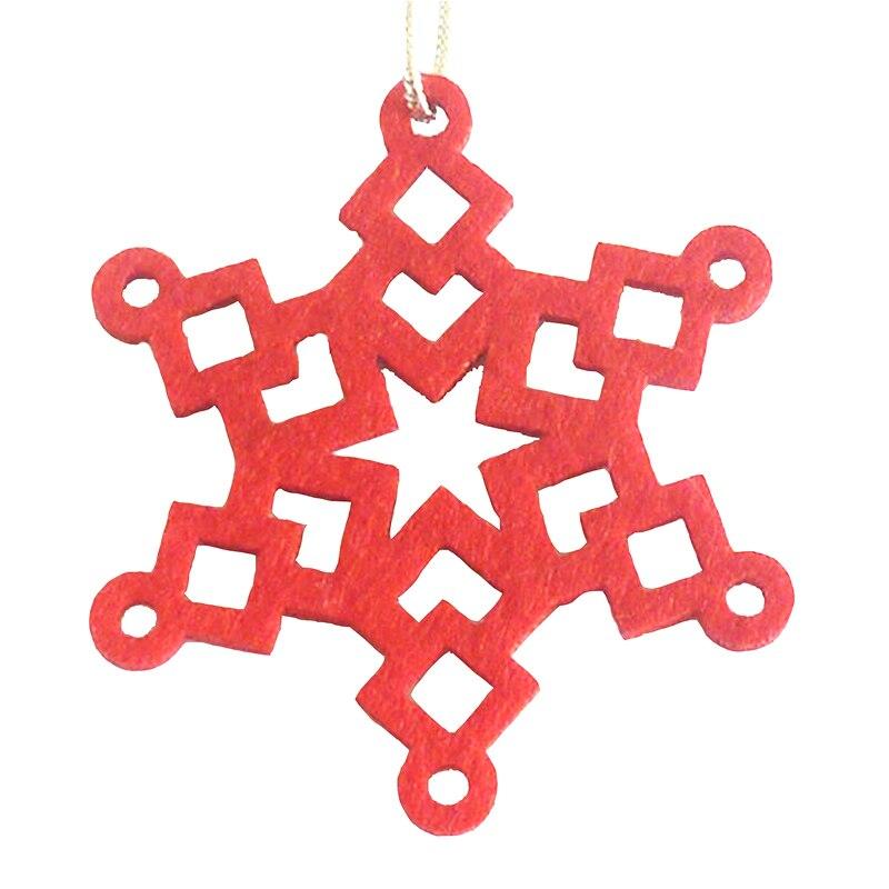 Новый год 2020 Рождественская елка орнамент Снежинка висячий кулон Рождественский подарок Ноэль Рождественское украшение для дома Navidad 2019 Deco