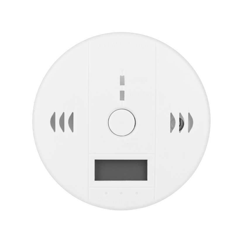 Система сигнализации, датчик углекислого газа, сенсоры работают независимо друг от друга, встроенная сирена 85 дБ, ЖК-экран