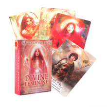 Board-Game Tarot-Cards Oracle Divine Feminine Entertainment Deck for Party The