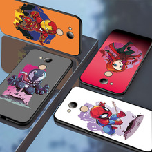 For Huawei Honor 6C 7A Pro Case Honor 7C 7CRU 7A 8C marvel spiderman Q Version B