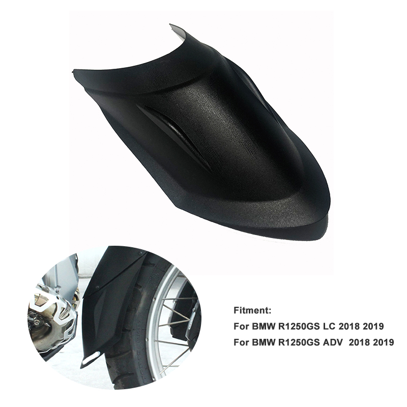 For BMW R 1250 GS And R1250GS ADV Adventure /HP LC Exclusive 2018 2019 Motorcycle Front Fender Tire Hugger Mudguard Extension