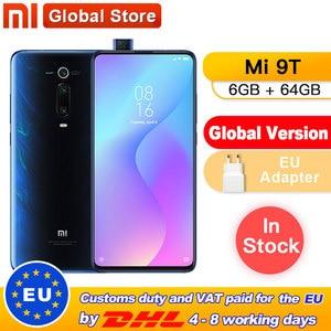 "Global Version Xiaomi Mi 9T (Redmi K20) 6GB 64GB Smartphone Snapdragon 730 Pop-up Front Camera NFC 6.39"" 48MP(China)"