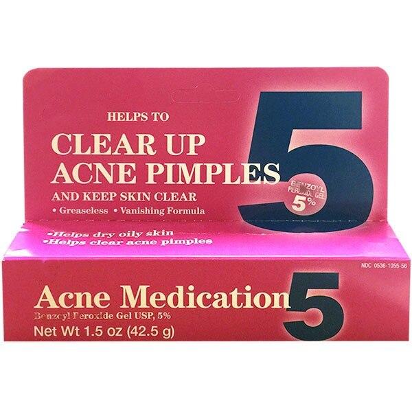 Gel 5% Acne Medication Clear Skin 42g