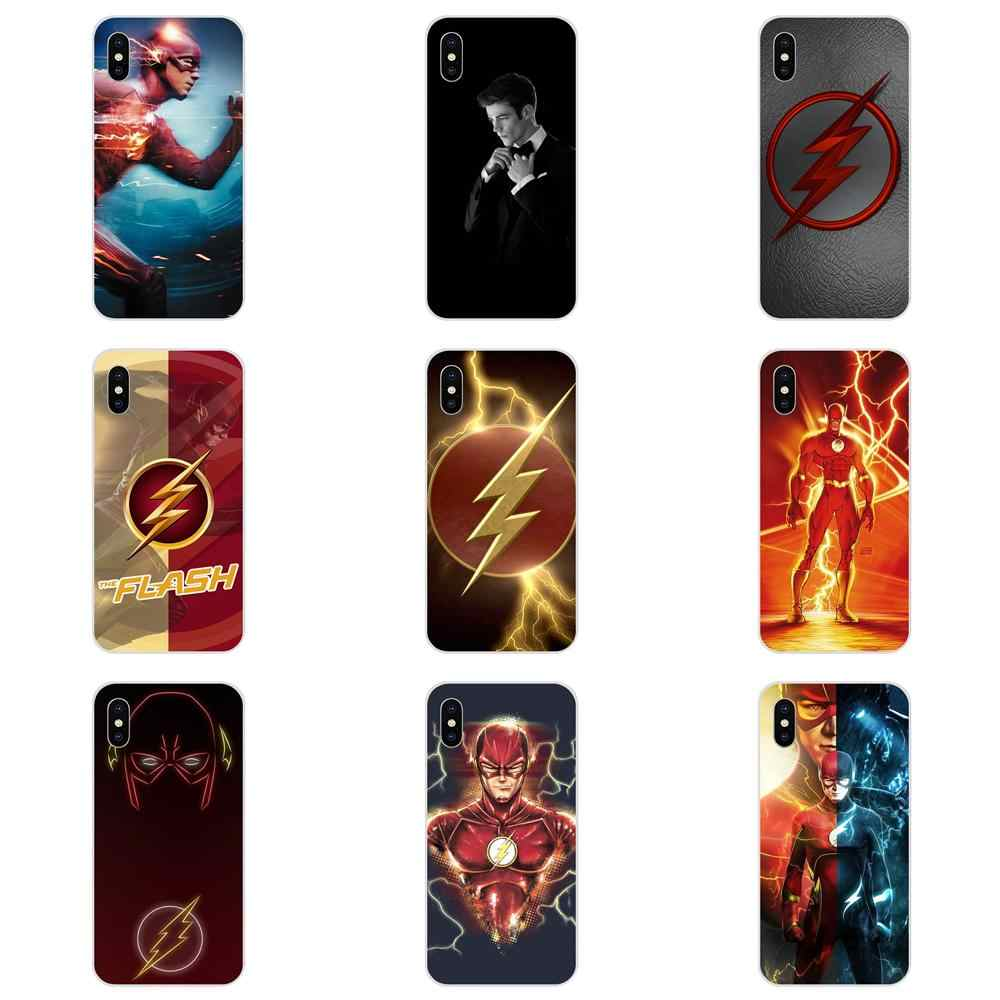 Superheroes The Flash Barry Allen For LG G2 G3 G4 G5 G6 G7 K4 K7 K8 K10 K12 K40 Mini Plus Stylus ThinQ 2016 2017 2018