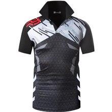 Мужские спортивные футболки поло jeansian Поло для гольфа тенниса