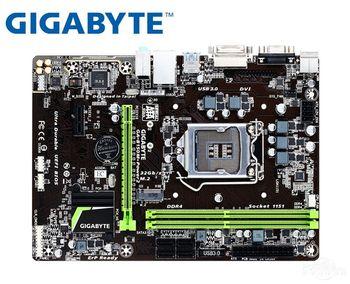 USED desktop Motherboard for Gigabyte B150M-Power 2 LGA 1151 DDR4 64GB USB2.0 USB3.0 B150 Desktop motherboard