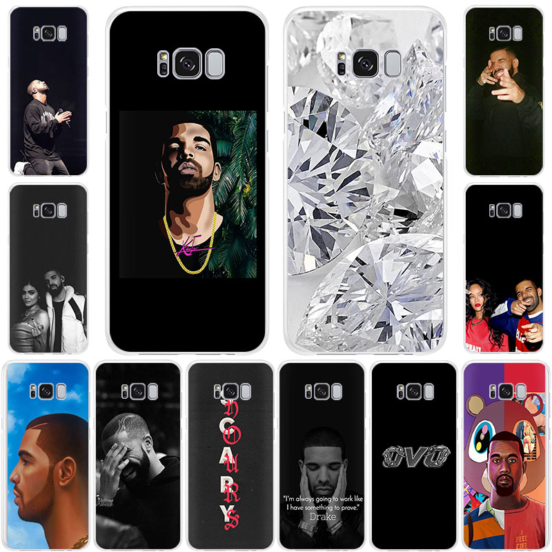 Drake style TPU Silicone Soft phone case for <font><b>Samsung</b></font> Galaxy Note10 Pro S10 5G S9 Note9 S8 S7 Note8 S6 cool fashion cover image