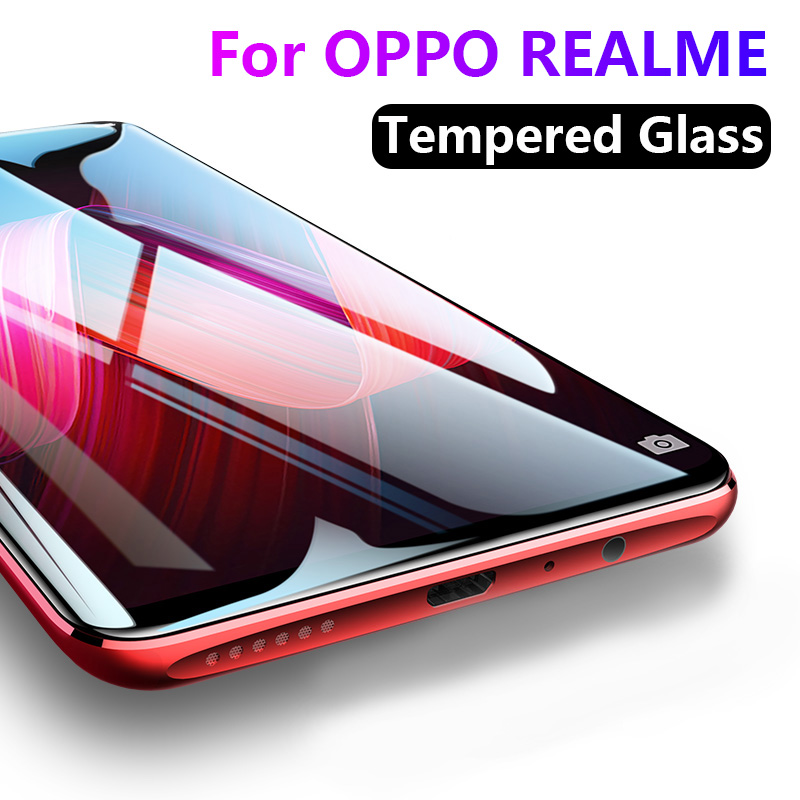 9H Tempered Glass for OPPO Realme XT X2 X50 6 5 3 2 Pro Q X C2 U1 6i HD 2.5D Screen Protector for OPPO K3 K5 A1k Glass film
