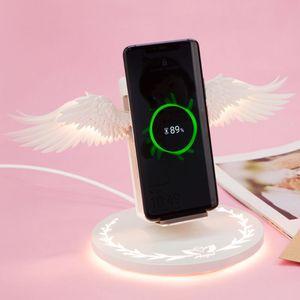 Universal LED Qi Wireless Char