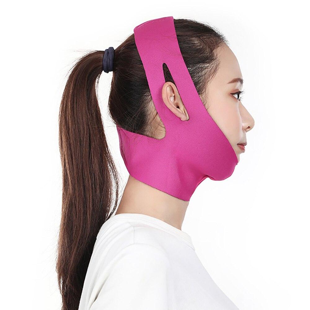 Face Slimming Bandage V Line Cheek Chin Neck Shaper Massage Strap Belt Relaxation Lift-up Mask Anti Wrinkle Skin Care Beauty