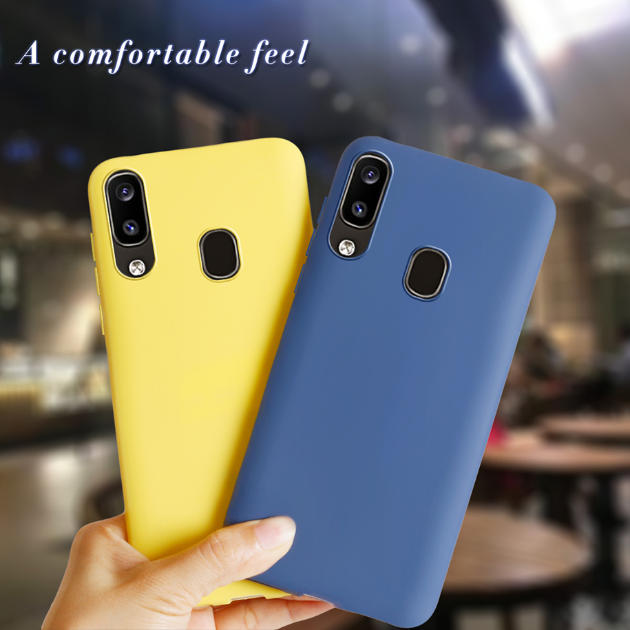 Color TPU Case For Samsung Galaxy A30 A20 2019 Cover Soft Silicone Back Cover For Samsung A20e A 20 30 A202 A205 A305 Phone Case