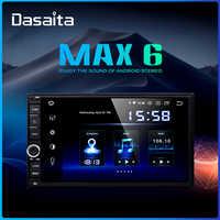 "Dasaita android carro universal 2 din rádio 7 ""ips tela android 9.0 estéreo de navegação multimídia para nissan built-in dsp"