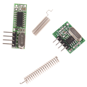 Image 3 - 1Pc  433Mhz Remote Control Wireless Module Diy Kit 433 Mhz Superheterodyne RF Receiver and Transmitter Module For Arduino Uno