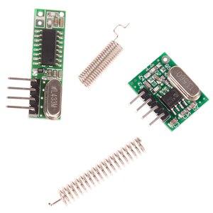 Image 3 - Módulo inalámbrico de Control remoto para Arduino Uno, Kit de bricolaje de 433 Mhz, receptor y módulo transmisor de RF superhelicoidal para Arduino Uno, 1 ud.