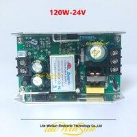 120W 24V Placa de Saída da Fonte De Alimentação para LED Par Luz do Estágio de Iluminação da Fonte de Alimentação Efeito de Iluminação de palco    -