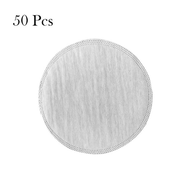 50/100 PCS Mask Gasket Face Mask Filter Pad Activated Carbon Breathing Filters 2