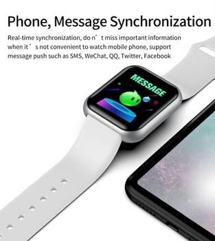 Y68 Smart Watch Men Wristwatches Smartwatch Electronic Clock Fitness Monitor Men Gift Reloj inteligente for Huawei Relogio SB001 6