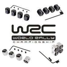 WRC логотип противоугонные колпачки для колесных шин для Volkswagen Ford Toyota Citroen peugeot Mitsubishi Subaru Audi Fiat Honda hyundai