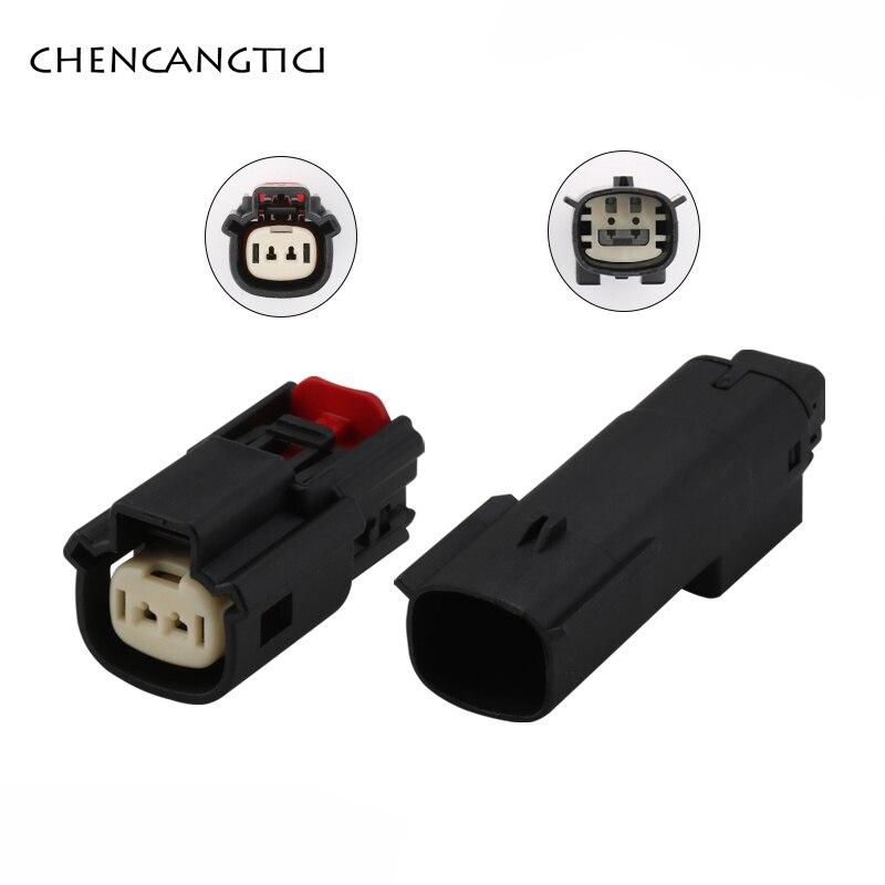 1 zestaw Molex 2 Pin Way lampa samochodowa gniazdo wodoodporne złącze czujnika temperatury dla BUICK Excelle Verano 33471-0201 33481-0201