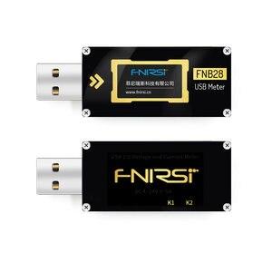 Image 5 - FNB28 Hiện Tại Và Đồng Hồ Đo Điện Áp USB Bút Thử QC2.0/QC3.0/FCP/SCP/AFC Sạc Nhanh Giao Thức Kích Hoạt công Suất Thử Nghiệm