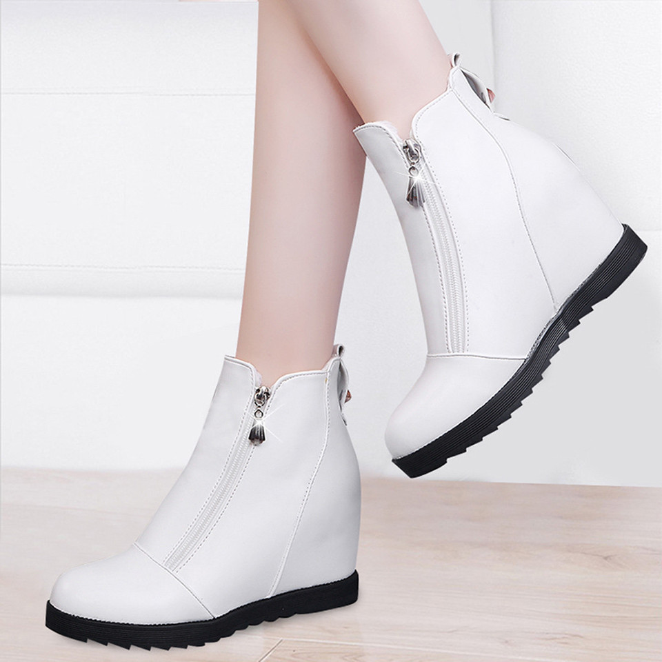 white ankle boots for women shoes woman