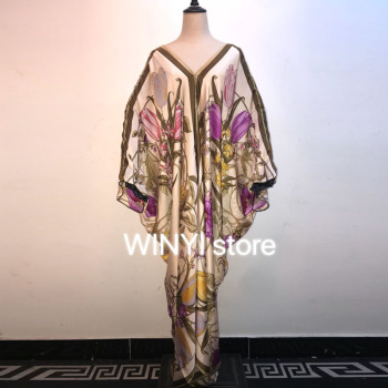 Women Long Maxi Dress 2020 Summer Floral Print Boho Beach Dress winyi  Short Sleeve Evening Party Dress Tunic Vestidos women short sleeve long dress summer ethnic style digital print maxi dresses girls loose split beach sundress vestidos