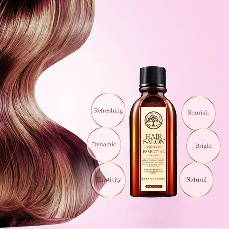 Hair Care Essential Oil Moisturizing Anti-Drying Repair Damaged Hair Quality Leave-In Conditioner 4