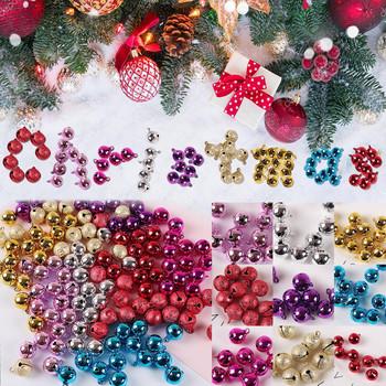 Boże narodzenie 2020 dekoracja kolor Dusted plastikowe dzwonki świąteczne akcesoria choinkowe świąteczne dzwonki ozdoby choinkowe tanie i dobre opinie MUQGEW CN (pochodzenie) 1109 Bez pudełka