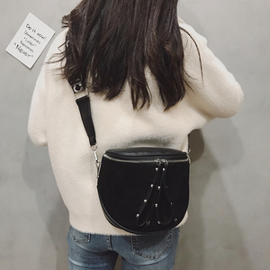 Image 4 - women crossbody bags fashion female 2020 autumn and winter new shoulder bag port wind retro matte saddle  tide