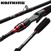 KastKing Max Stahl Ultraleicht Spinning Angelrute mit 1,80 m 1,98 m 2,13 m 2,28 m 2,4 m Köder Casting stange für See Fluss Angeln
