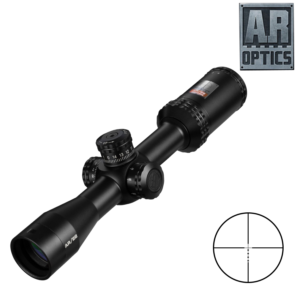 2-7X32 AR Optics Drop Zone-223 Reticle Tactical Riflescope With Target Turrets Hunting Scopes For Sniper Rifle image