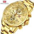 MINIFOCUS наручные часы Мужские лучший бренд роскошные известные мужские часы кварцевые часы наручные часы кварцевые часы Relogio Masculino MF0278G. 03
