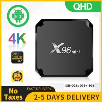 X96 Mini Smart Tv Box Android 9.0 S905W Quad Core 1080P Full HD 4K Media Player 2.4G WIFI X96 Mini Smart Android Set Top Box