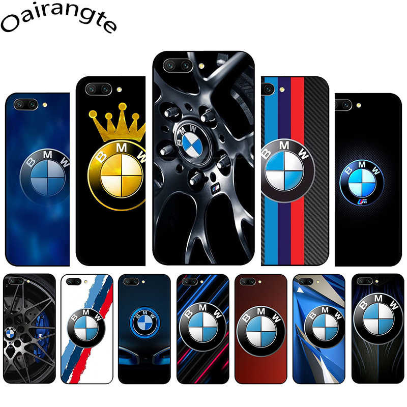 BMW logo Soft Phone Cover Case for Huawei Honor Note 6A 7A 7X 8X 9X 8 9 10 Lite 8C 20 Pro