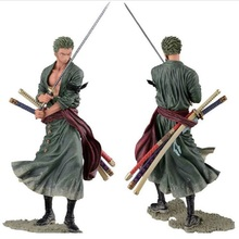 20cm One Piece Luffy Sabo Roronoa Zoro Japan Anime Cartoon Fighting Ver PVC Action Figure Model Collection Toys Kids Doll Gift