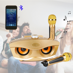Image 3 - Professional Bluetooth Karaoke Speaker With Wireless Microphone Mini Home KTV System For Singing Party Music Play