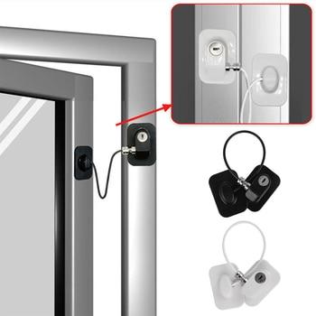 1 PC Window Lock Child Safety Lock Baby Protection Children From Being Hurt By Baby Lock Windows Door Cabinet Limiter Locks 6