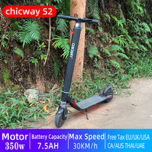 CHICWAY S2 Mini Novice Electric Scooter Two-Wheel Adult Child E-scooter Transportation Portable Travel Tool EU US InStock