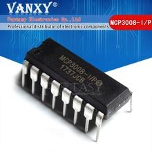 1PCS MCP3008 DIP16 MCP3008 I/P DIP 16 DIP