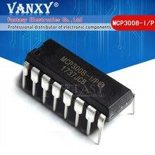 """1PCS MCP3008 DIP16 MCP3008 I/P DIP 16 מח""""ש"""