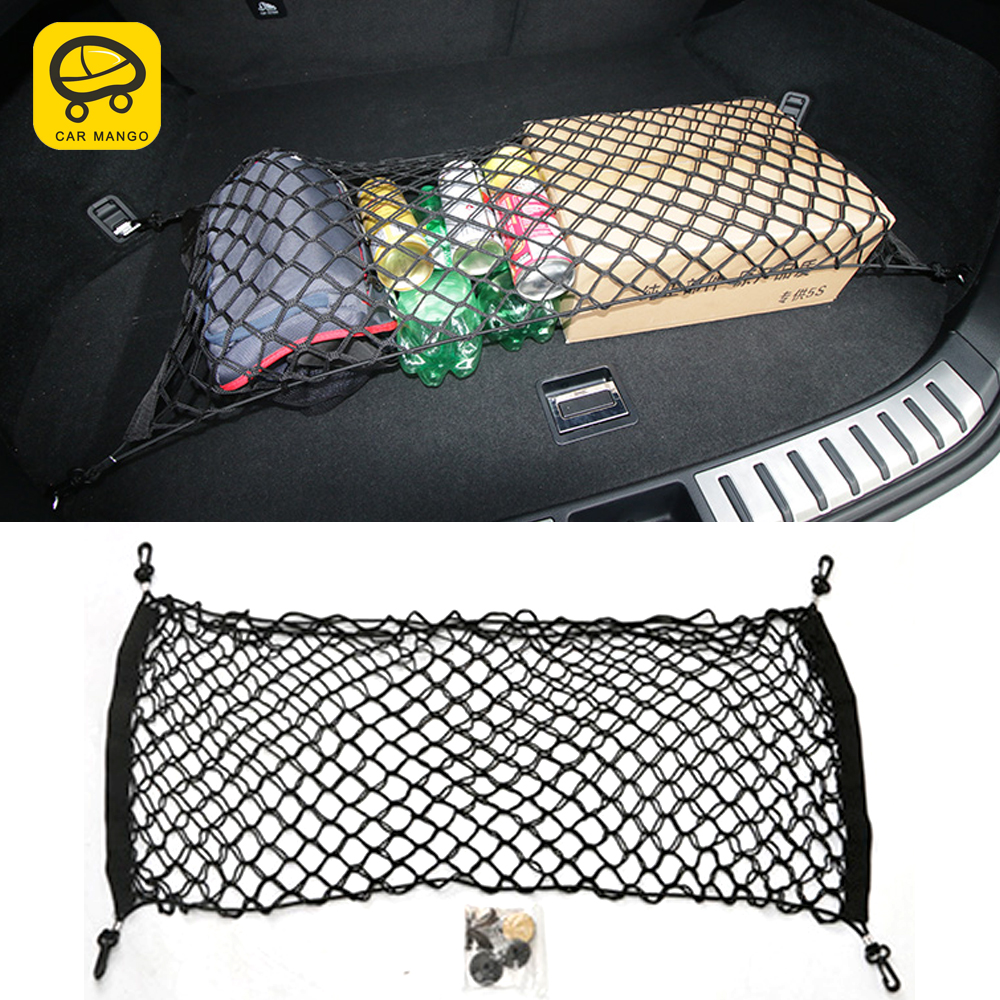CarManGo For LEXUS <font><b>RX200T</b></font> 450H ES250 200 NX200T 300H Car Trunk Rear Seat String Net Mesh Bag Pocket Cage Automobile Organizer image