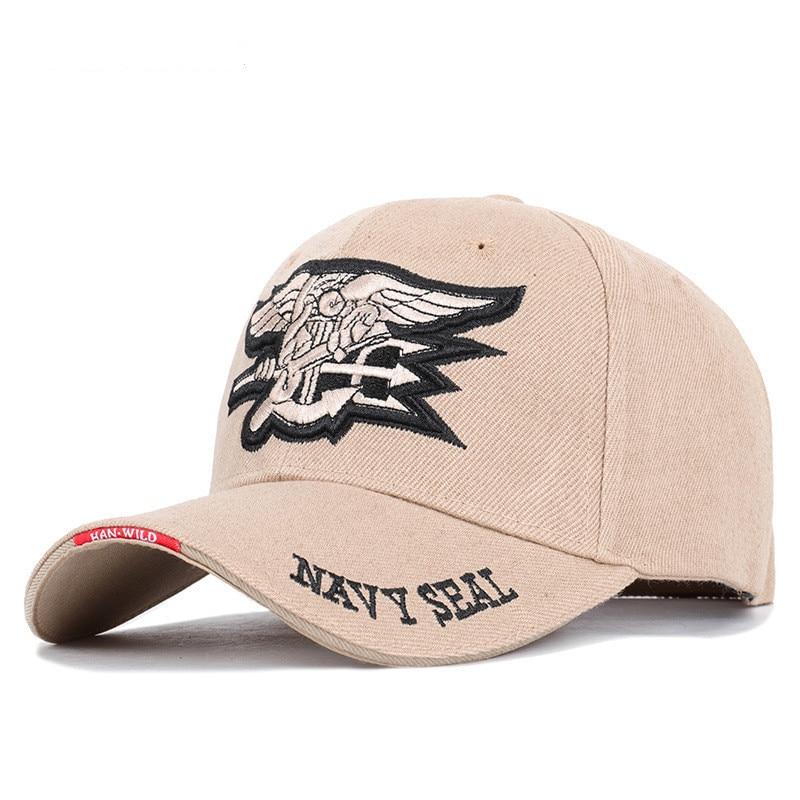 High Quality Mens US NAVY Baseball Cap Navy Seals Cap Tactical Army Cap Trucker Gorras Snapback Hat Adult cotton Wild couple hat