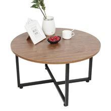 Round Table Furniture-Supplies Living-Room Modern Minimalist HWC 1-Pc Decoration