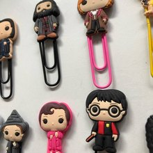 Bookmarks Stationery Page-Holder Movie-Figure Teacher Xmas-Gift Office-Supply-Friends