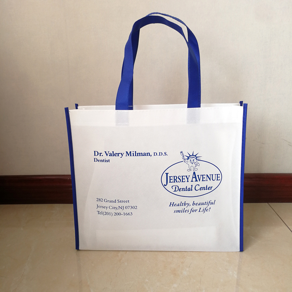 Gift Bags with Your Logo Eco-friendly Tote Merchandise Bag Budget Shopper Party Event Custom Favor Bag Gift Affordable 500pcs image