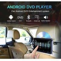 YAZH 10,2 pulgadas Android CD de coche DVD reposacabezas reproductor IPS 1366*768 TFT-LCD reposacabezas de coche monitores con WIFI Bluetooth enlace espejo