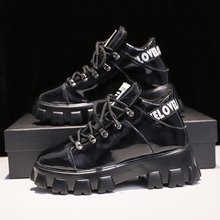 New Women Vulcanized Shoes Chunky Sneakers Comfort Walking Flats Platform Tenis Feminino