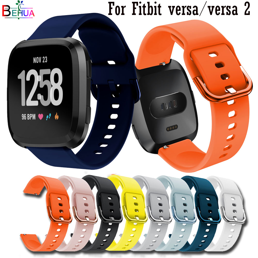 Replacement Bracelet Sport Silicone Sport Band Strap For Fitbit Versa