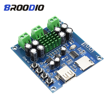 TPA3116D2 Bluetooth Amplifier Board Dual Channel 2*50W Audio Amplifiers DC12-24V Support TF Card U Disk Bluetooth Amplificador tpa3116d2 bluetooth 4 2 power amplifier board amplificador 50w 50w dual channel audio amplifier module dc12 24v