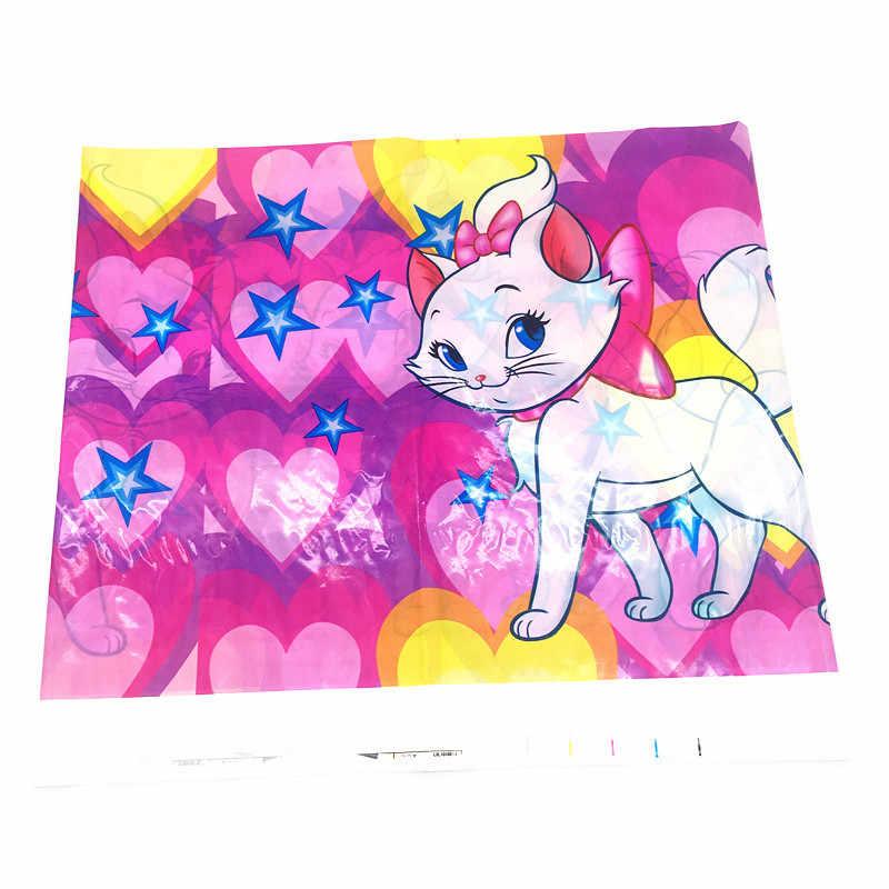 Marie Cat Tema Balon Peralatan Makan Paper Cup Piring Banner Kucing Merah Muda Gadis Ulang Tahun Pesta Pernikahan Baby Shower Perlengkapan Dekorasi